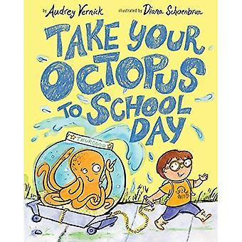 Dia de levar seu polvo para escola