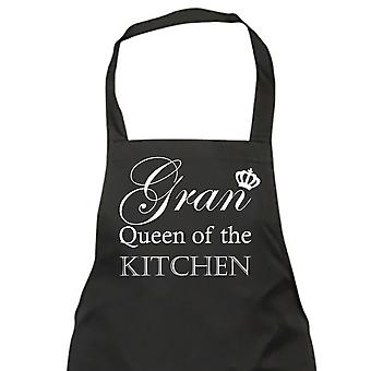 Gran Queen Of The Kitchen Black Apron