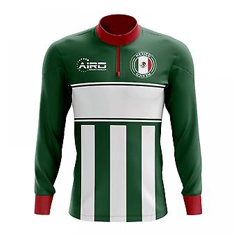 المكسيك لكرة القدم مفهوم الرمز البريدي نصف ميدلايير الأعلى (أخضر-أبيض)