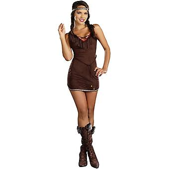 Native Girl Adult Costume