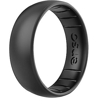 Enso Rings Classic Elements Series Silicone Ring - Black Pearl