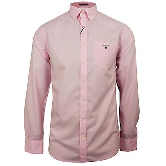 Gant the broadcloth men's shadow rose shirt