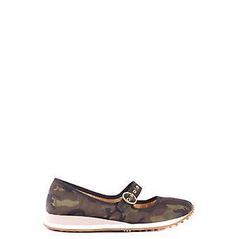Car Shoe Ezbc029006 Women's Multicolor Fabric Flats