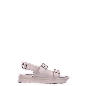 Hogan Gyw2570r7007y8b001 Women's White Leather Sandals