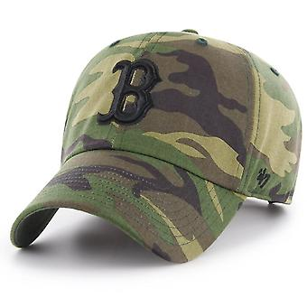 47 fire Adjustable Cap - MLB Boston Red Sox wood camo