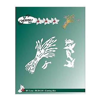 By Lene Cutting & Embossing Dies Christmas Sheaf