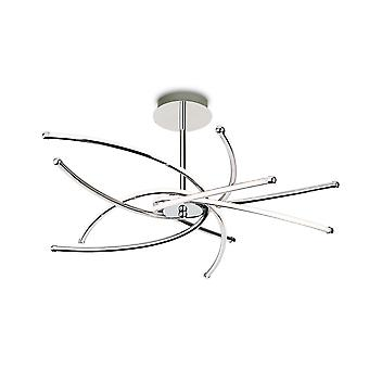 Erstlicht-LED Semi Flush Light Chrome-4852CH