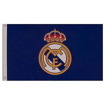 Real Madrid FC Core Crest Flag