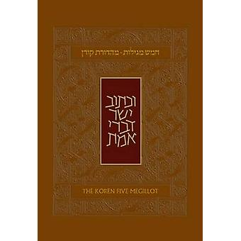 Koren Five Megillot by Adin Steinsaltz - 9789653018259 Book