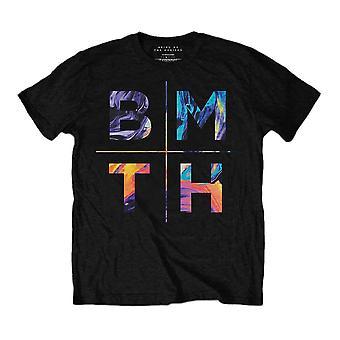 Men's Bring Me The Horizon Colours Black T-Shirt