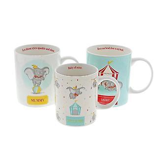 Dumbo 3-Piece Mug Geschenk-Set