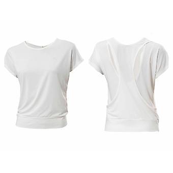 Adidas Ladies Studio Pure Airy Trening T-Shirt