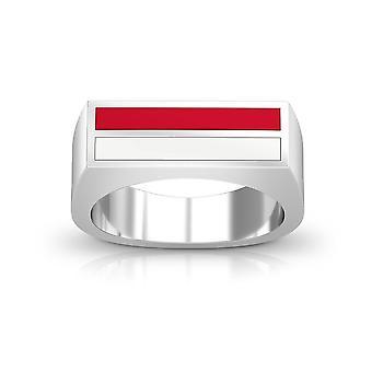 U of Houston Ring In Sterling Silver Design by BIXLER