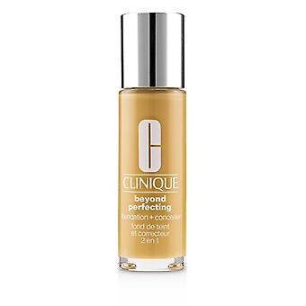 Clinique Beyond Perfecting Foundation & Concealer - # 10 Honey Wheat (mf-g) - 30ml/1oz