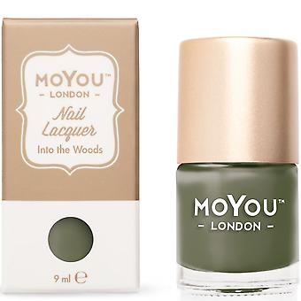 MoYou London Stamping Nail Lacquer - Into The Woods 9ml (MN085)