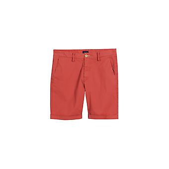 Sunbleached 02 vanlig Fit shorts mineral rød