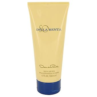 So de la renta body lotion van oscar de la renta 401611 200 ml