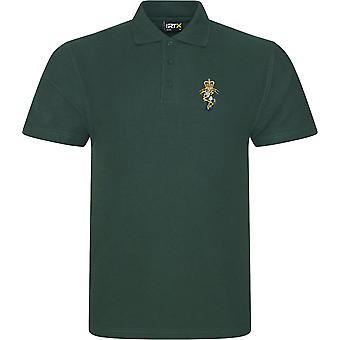 REME Royal Electrical Mechanical Engineers-licenseret British Army broderet RTX Polo