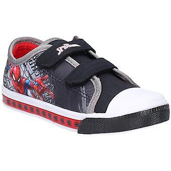 Leomil chłopców Spiderman niska lekki Plimsoll Casual buty