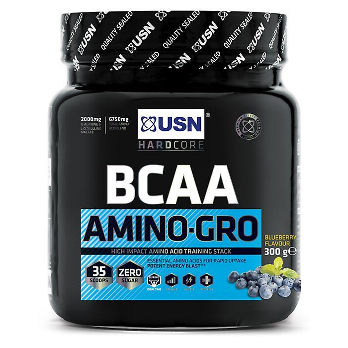 USN Hardcore BCAA Amino Gro Innovative Workout Supplement