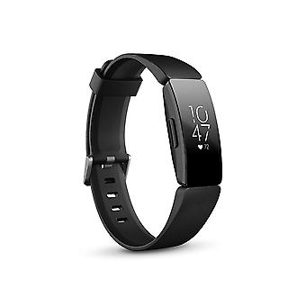 Fitbit Inspire HR Health & Fitness tracker med Auto-motion Recognition, 5 dages batteri, søvn & svømning tracking, sort