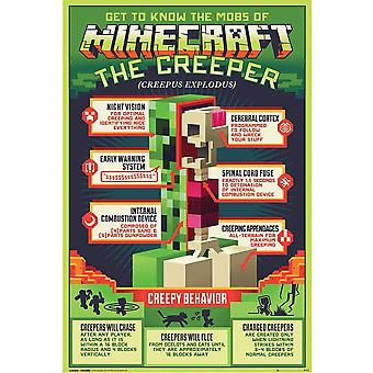 Minecraft Creeper-juliste