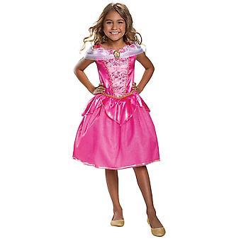 Girls Aurora Classic Costume - Sleeping Beauty