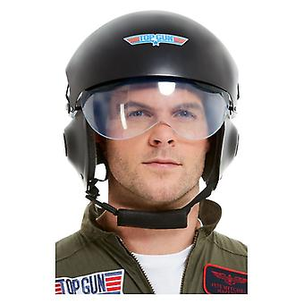 Herren Top Gun Fighter Pilot Helm Kostüm Zubehör offizielles Merchandise