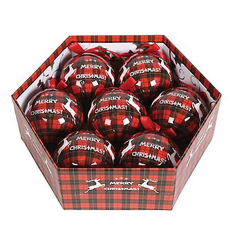 Straits 7 Piece Merry Xmas Bauble Gift Box