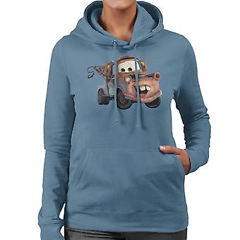 Disney Cars Tow Mater Smile vrouwen ' s Hooded Sweatshirt