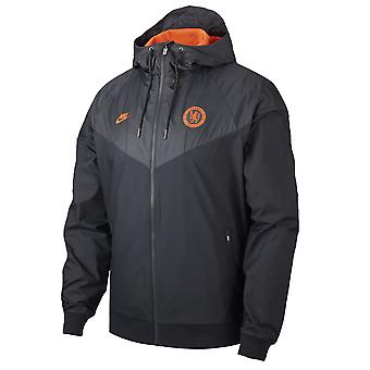 2019-2020 Chelsea Nike Authentic Windrunner Jacket (Anthracite)
