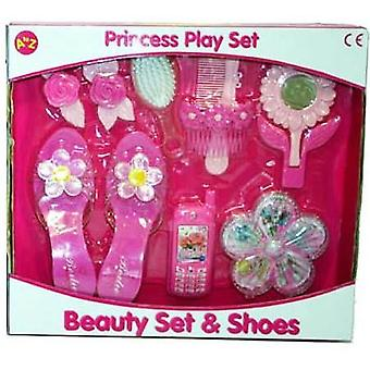 Princess Playset Beauty Set und Schuhe Rosa Kinder Spielzeug Activity