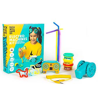 Tech Will Save Us Electro Machines Kit | Educational STEAM Toy, Ages 4 and up