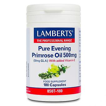 LAMBERTS Pure Evening Primrose Oil 500mg Caps 180 (8507-180)
