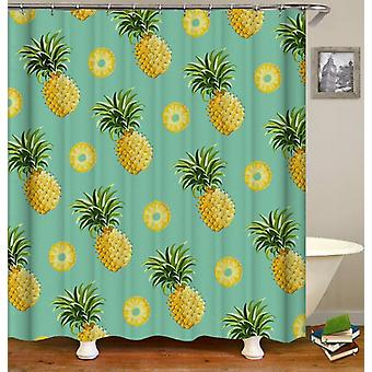 Pineapples And Pineapples Cuts Shower Curtain