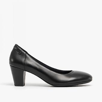 الصمت الجراء إيرين السيدات الجلود المحكمة أحذية الأسود