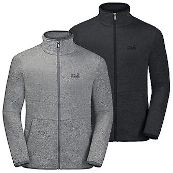 Jack Wolfskin Mens Finley Hill Full Zip Lichtgewicht Stretch Fleece