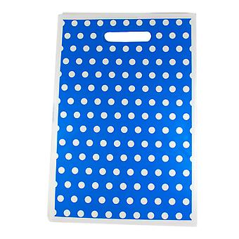 TRIXES 32 x 22cm Party Loot Bags 8 Pack Blue