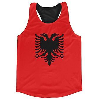 Albanië vlag Running vest