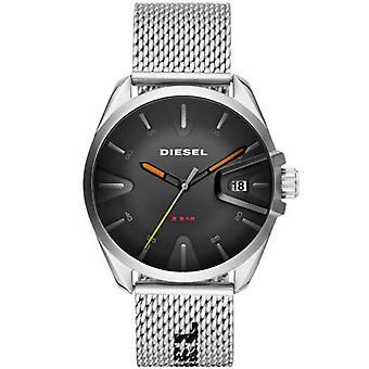 Diesel Uhr DZ1897 - MS9 Bo Tier Stahl Silber Silber Silber Stahl Armband Silber Männer