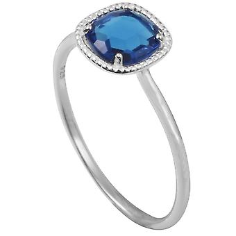 Clio Blue BA1060T ring - ring Sissi II blue silver woman