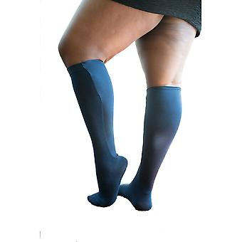 Xpandasox platte steun sokken of Lymphoedema Wrap dekt [stijl F15200] Navy M