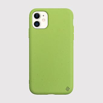 Eco Friendly iPhone 11 Case Eco Back Shell/Green Apple