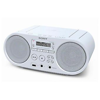 Rádio Branca CD Da Sony ZS-PS50