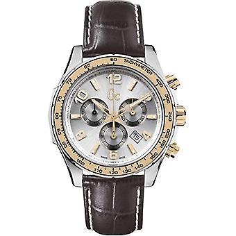 Guess men's Chronograph Watch quartz men's watch with leather X51005G1S