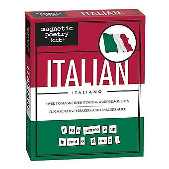 Magnetic poetry kit - italian