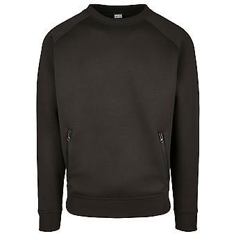 Urban Classics Herren Sweatshirt Raglan Zip Pocket