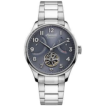 Hawley Automatic Analog Man Watch with I04609 Stainless Steel Bracelet
