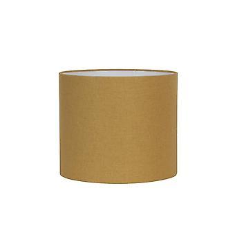 Ombre de cylindre de lumière et vivant 40x40x30cm Livigno Ocher