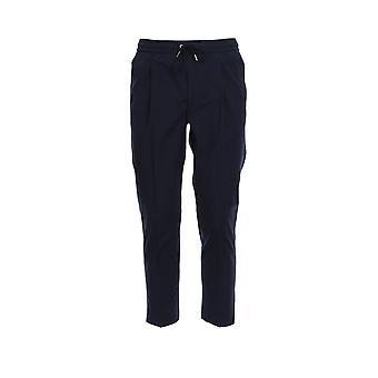 Moncler 2a71000549p5779 Men's Blue Cotton Joggers